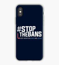 Stoppt die Verbote und den Protest gegen die Rechte der Frauen iPhone-Hülle & Cover