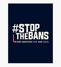Stoppt die Verbote und den Protest gegen die Rechte der Frauen Fotodruck