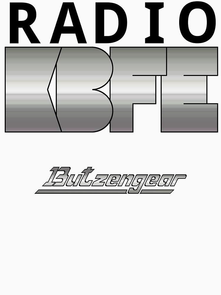 Radio KBFE on White by Butzengear