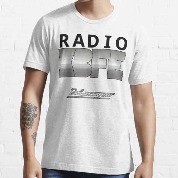 Radio KBFE auf Weiß Essential T-Shirt