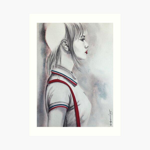 THAT WOMAN a skinbyrd piece by Nikki Morris Art Print