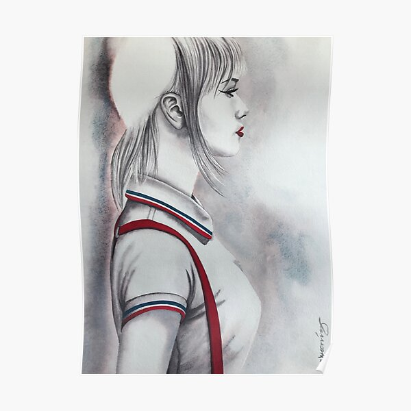 THAT WOMAN a skinbyrd piece by Nikki Morris Poster