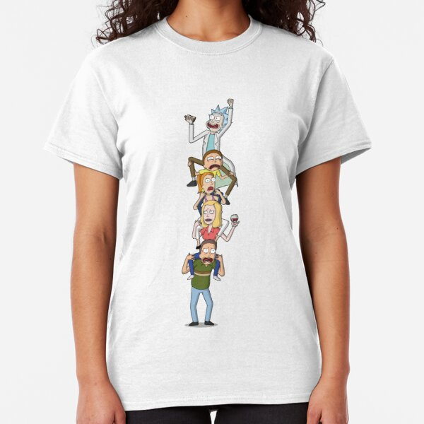 Rick and Morty Totem Classic T-Shirt