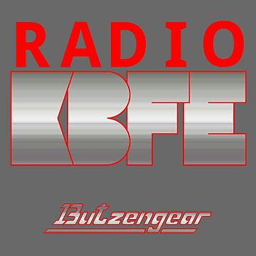 Radio KBFE on Various Colours by Butzengear