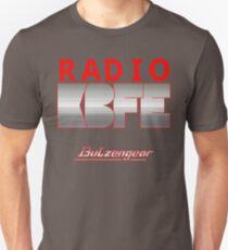 Radio KBFE on Various Colours Unisex T-Shirt