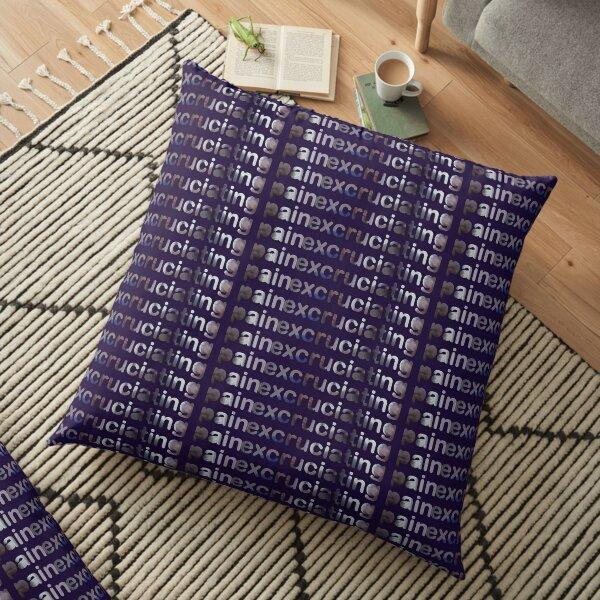 excruciating pain Floor Pillow