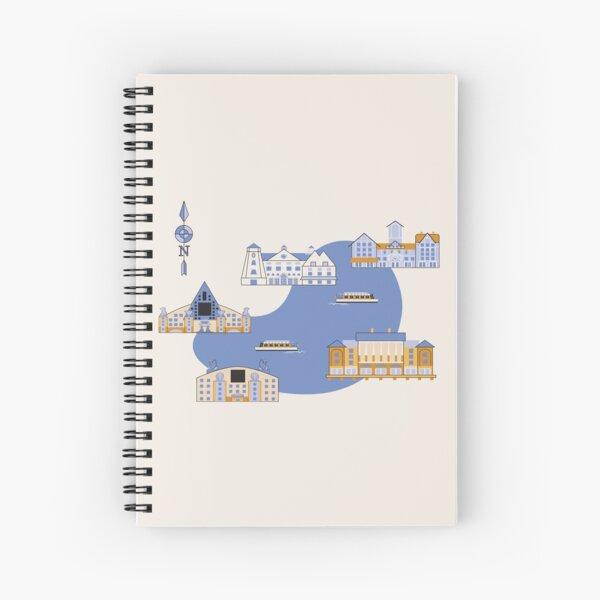 Crescent Lake Spiral Notebook