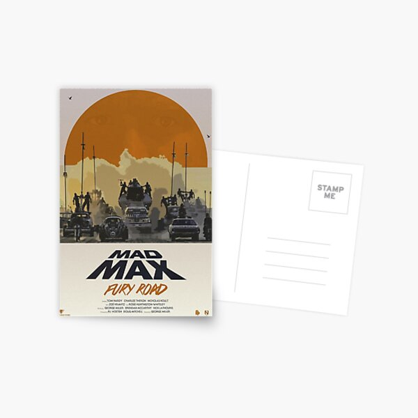 Mad Max Fury Road Postcard