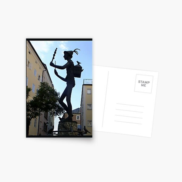 Papageno Postcard