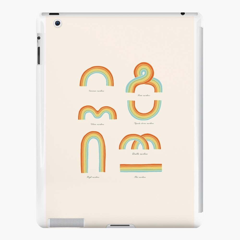 Know Your Rainbows iPad Cases & Skins