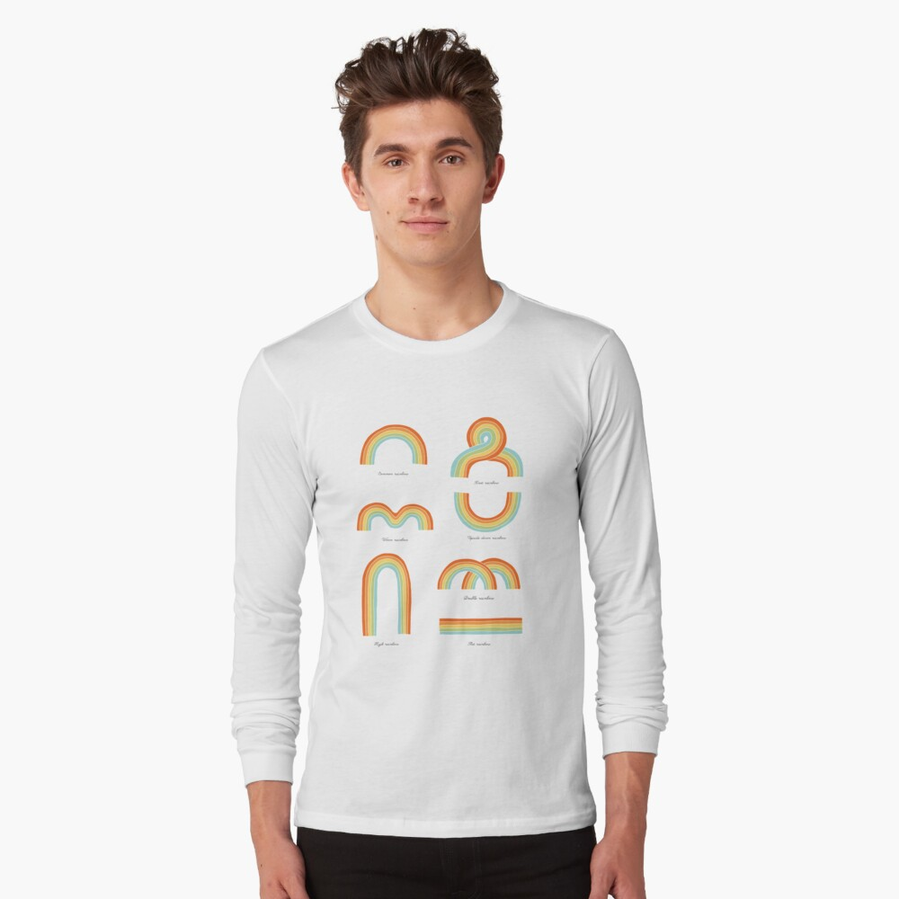 Know Your Rainbows Long Sleeve T-Shirt