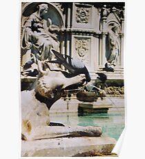 Fonte Gaia ( Siena ) Poster