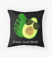 Guac and Roll Throw Pillow