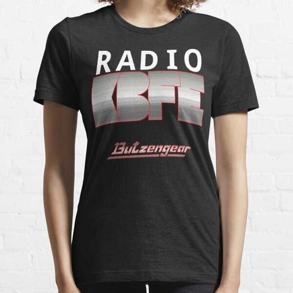 Radio KBFE auf Dark Essential T-Shirt