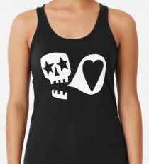We love you Racerback Tank Top