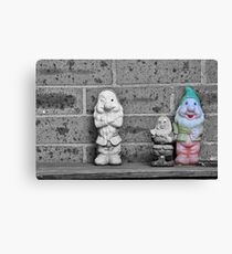 The Smoking Gnome Canvas Print