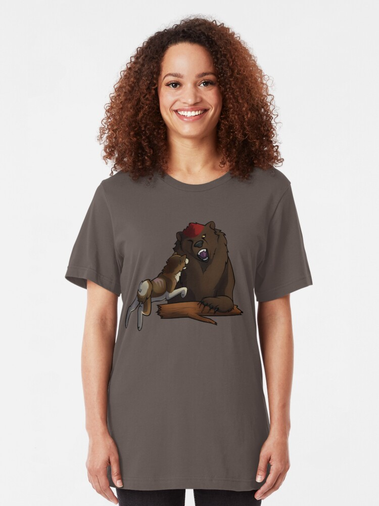 Alternate view of Bear Hound Slim Fit T-Shirt