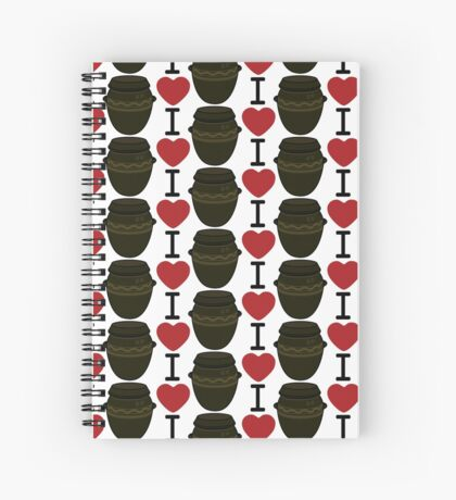 I Lubba Kimchi Third Culture Series Spiral Notebook