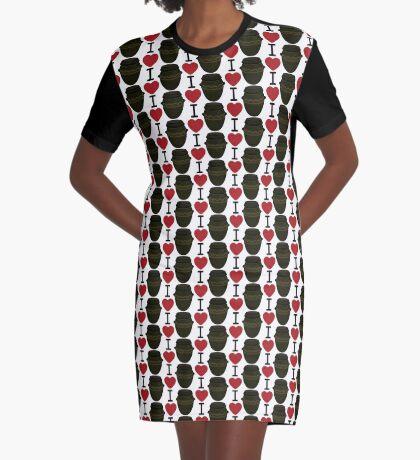 I Lubba Kimchi Third Culture Series Graphic T-Shirt Dress