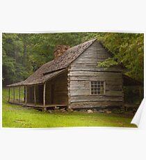"""Noah """"Bud"""" Ogle cabin Poster"""