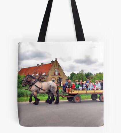 A joyous ride Tote Bag