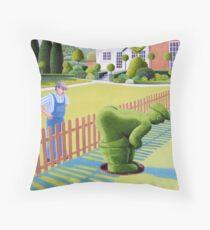 Neighbourly Gesture Throw Pillow