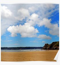 Great Torr, Gower Poster