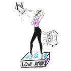 AMOR LOVE She Hears by Roxana Frontini