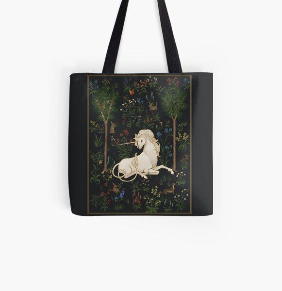 Unicorn Woods All Over Print Tote Bag