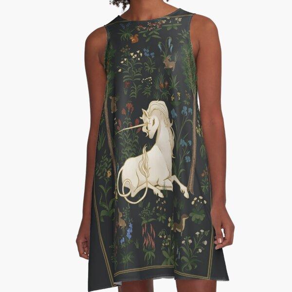 Unicorn Woods A-Line Dress