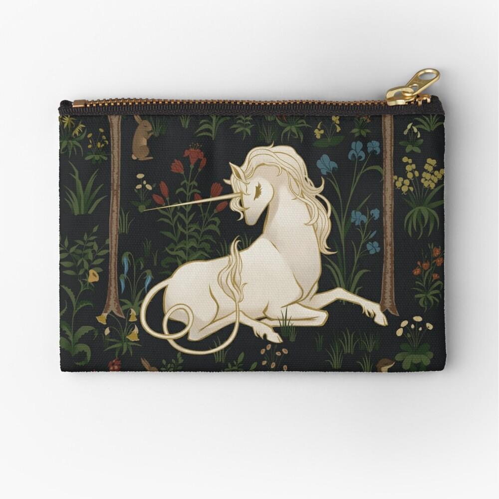Unicorn Woods Zipper Pouch