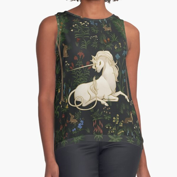 Unicorn Woods Sleeveless Top