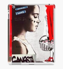 Little Red Ridinghood Spotted Latenite Tagging iPad Case/Skin