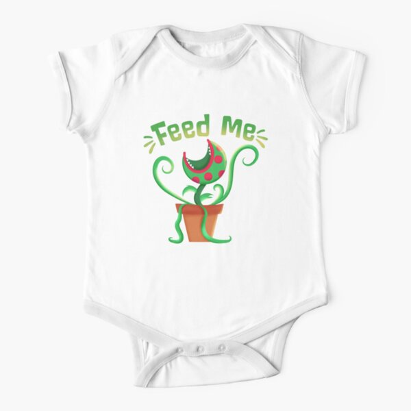 Feed Me Seymour Short Sleeve Baby One-Piece