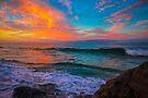 Sunrise Laugna Mountain Street by photosbyflood