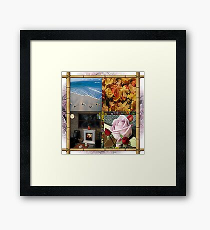 4 Seasons Framed Print
