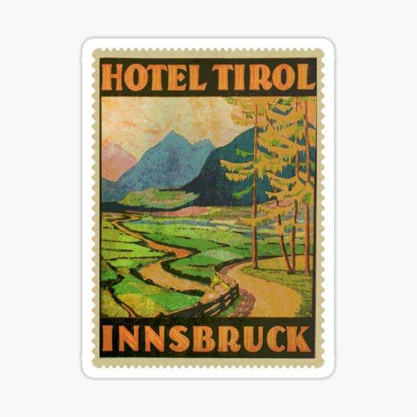 Hotel Tirol Innsbruck Österreich Sticker