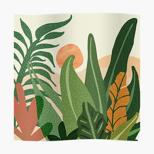 Jungle Morning Poster