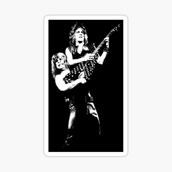 Randy and Oz - The White Stencil Sticker