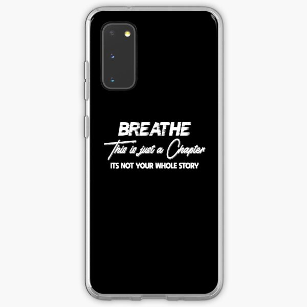 Breathe with confidence Samsung Galaxy Soft Case