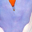 A Lone Arctic Balloon by Tim Gorichanaz