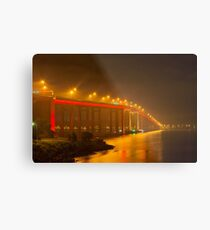 Mofo Bridge Metal Print