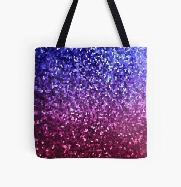 Graphic Mosaic Sparkley Texture G201 All Over Print Tote Bag