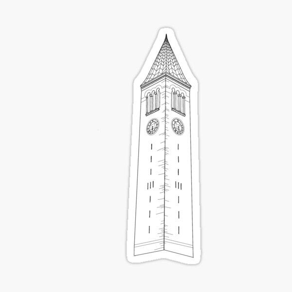 Cornell Tower | McGraw Tower Sticker