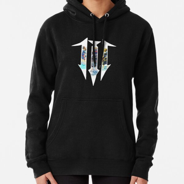 Kingdom Hearts 3 Logo - The 3 ages of Sora Pullover Hoodie