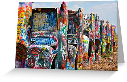 Cadillac Ranch 3 by Stacie Forest