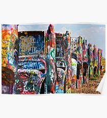 Cadillac Ranch 3 Poster