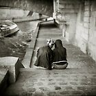 Lovers by the Seine by laurentlesax