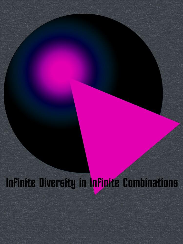 IDIC Black & Hot Pink by Etakeh
