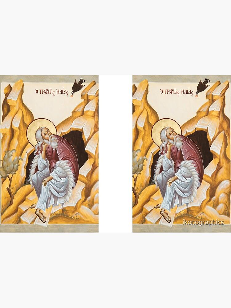Prophet Elijah by ikonographics